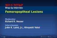 Clinical studies: DEFINITE LE… - Summit-tctap.com
