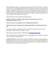 Hidden Things of God's Revelation by Arthur C - Noah's Ark & Early ...