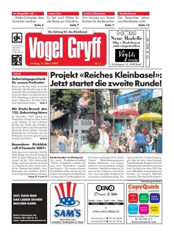 09. März 2007 - Vogel Gryff