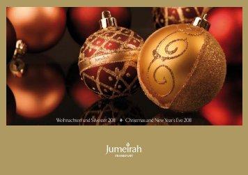Weihnachten und Silvester 2011 Christmas and New Year's Eve 2011