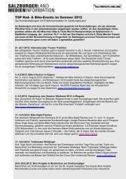 TOP Rad- & Bike-Events im Sommer 2012 - Presse Informationen ...