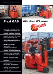 Download the latest Flexi GAS Brochure Here - Flexi narrow aisle ...