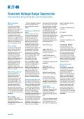 Transient Voltage Surge Suppression - Page 2