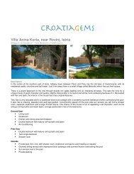 Villa Anina Korta, near Rovinj, Istria - CroatiaGems