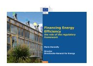 Financing Energy Efficiency - European Alliance to Save Energy
