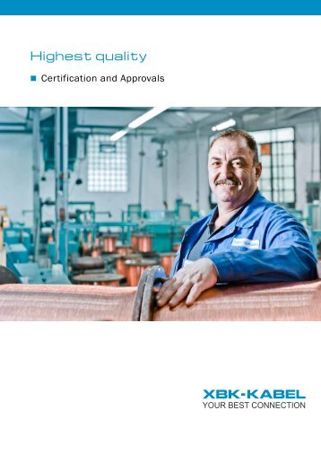 Certification and approvals