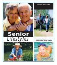 Senior Lifestyles Advertising Department Of The - Watertown Daily ...