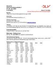 Deutsche Seniorenmeisterschaften I 27.-29. Juni 2008 in Kevelaer