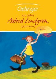 Astrid Lindgren Gesam tverzeichnis - Verlag Friedrich Oetinger