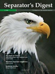 Separator's Digest 2008/2 min. - GEA Westfalia Separator Group