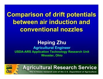 Comparison of drift potentials between air induction and ...