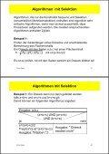 Inhalt 3. Spezielle Algorithmen - Page 2