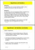 Inhalt 3. Spezielle Algorithmen - Page 3
