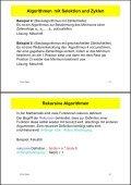 Inhalt 3. Spezielle Algorithmen - Page 4
