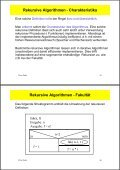 Inhalt 3. Spezielle Algorithmen - Page 5