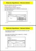 Inhalt 3. Spezielle Algorithmen - Page 6