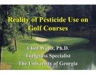 Pesticide Use on Golf Courses - The Pesticide Stewardship Alliance ...