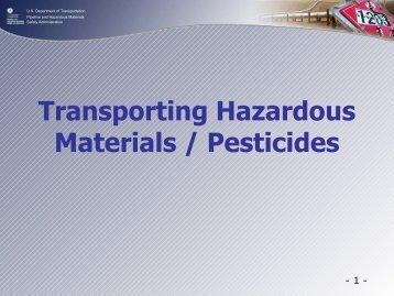 Michael Roberts - The Pesticide Stewardship Alliance TPSA