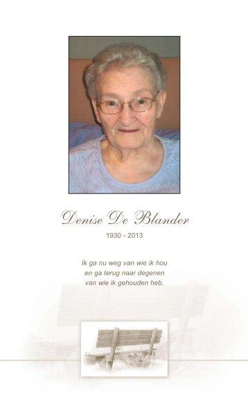 De Blander Denise rouwkaart WEB zonder.pdf - Rouwcentrum ...
