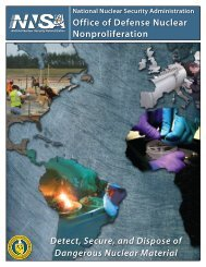 DNN Cover(pg1).indd - National Nuclear Security Administration ...