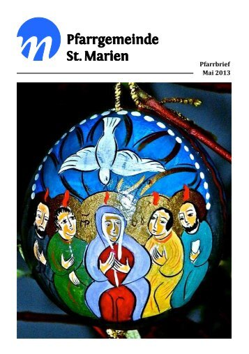 Pfarrbrief Mai 2013 - Kath. Kirchengemeinde St. Marien Neunkirchen