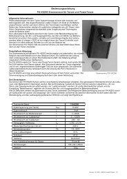 Bedienungsanleitung PA HS200 Stromsensor für ... - Mare Solar