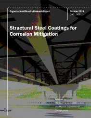 Structural Steel Coatings for Corrosion Mitigation