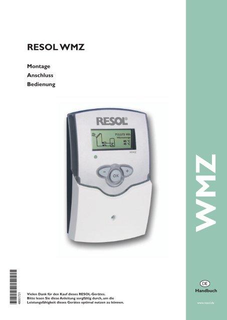 RESOL WMZ *48001721* 48001721 - Mare Solar