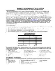 Application - Golden State Water Company