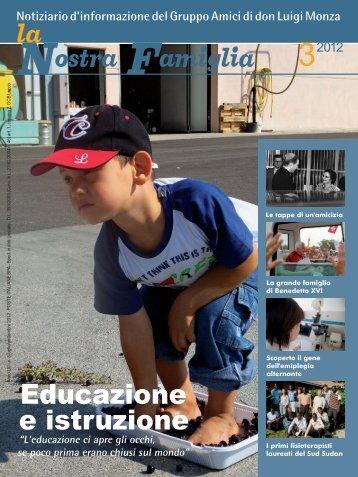 Notiziario 3/2012 - Beato Luigi Monza
