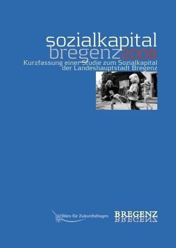 Studie Sozialkapital Bregenz - Vorarlberg
