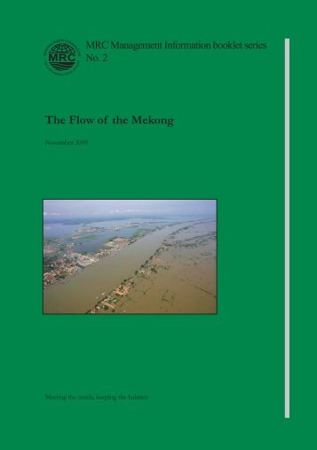 The Flow of the Mekong - Mekong River Commission
