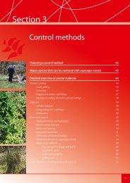 Section 3. Control Methods - Weeds Australia