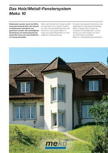 Ch 369-3 d P Holz-Metall Meko10 - Schweizer Metallbau
