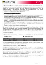 Allgemeine Bedingungen für die airberlin & NIKI Visa Card der ...