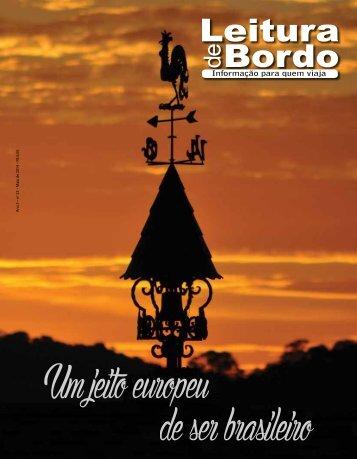Revista Leitura de Bordo Maio de 2014