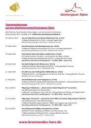 Tageswanderung 2013 - Ammergauer Alpen
