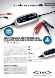 CTEK MXS 5.0 - Hellanor