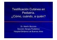 Testificación Cutánea en Pediatría. ¿Cómo, cuándo, a quién?