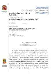 Lea la sentencia - Aragón Digital