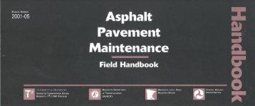 Asphalt Pavement Maintenance - Minnesota Local Road Research ...
