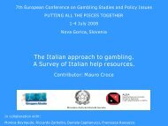 Presentazione di PowerPoint - European Association for the Study ...