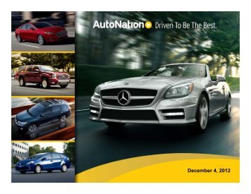 AutoNation - Automotive Specialty Products Alliance