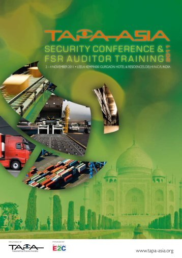 TAPA Asia Conference 2011 brochure (pdf) - DNV Business ...