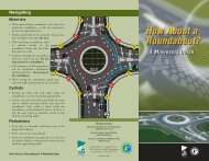 How About a Roundabout? - Minnesota Department of Transportation
