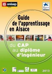 Guide de l'apprentissage en Alsace du CAP au diplôme d'ingénieur
