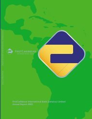 (Jamaica) Limited - FirstCaribbean International Bank