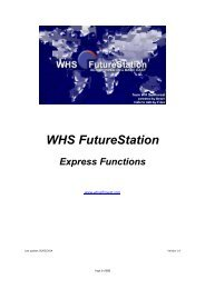 Express function manual - WH SelfInvest