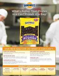 What's Better Than Prunes in a Can? Prunes in a Bag! What's Better ...
