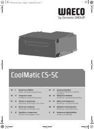 CoolMatic CS-SC - Waeco